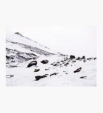 First Snow Svalbard 2 Photographic Print