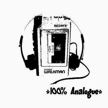 Analogue Walkman by betelnut