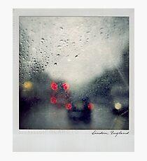 Rain Polaroïd Photographic Print