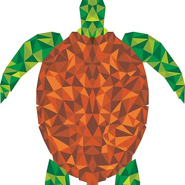 Crystal Turtle by Wuiye