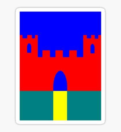 Castle Tee Sticker