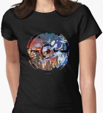 Groudon VS Kyogre - Primal Hoenn Battle Womens Fitted T-Shirt
