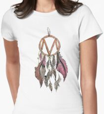 the maine  necklaces, amulets, Women's Fitted T-Shirt