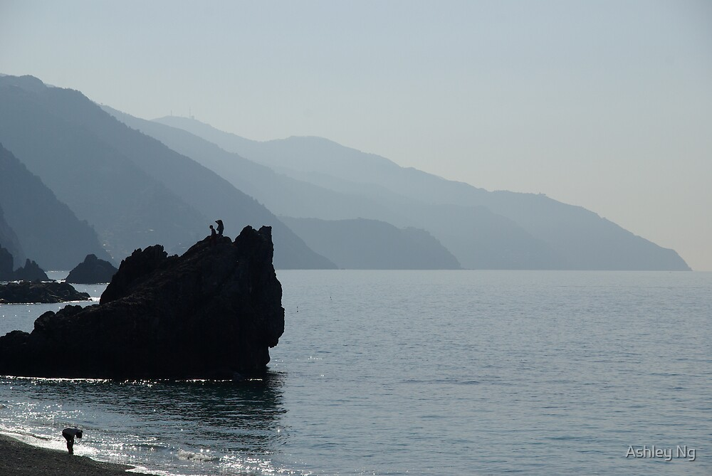 Monterosso Morning by Ashley Ng