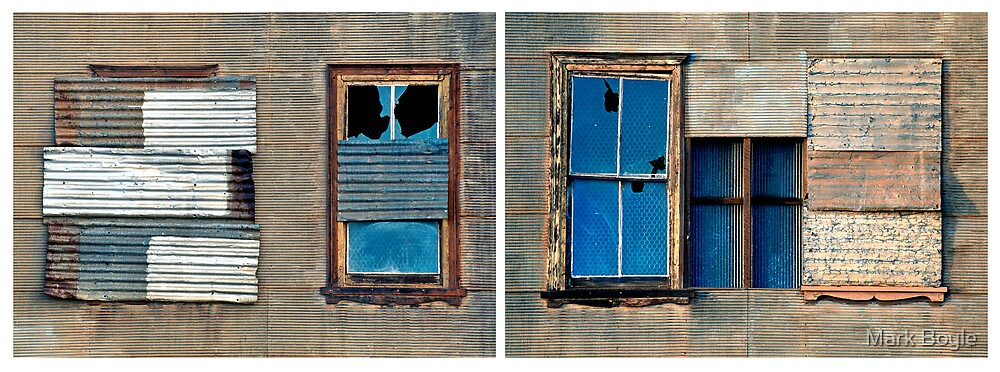 Window Diptych, Old Freemasons Hall, Cue by Mark Boyle