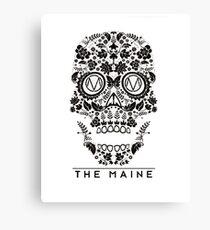 the maine skull Canvas Print