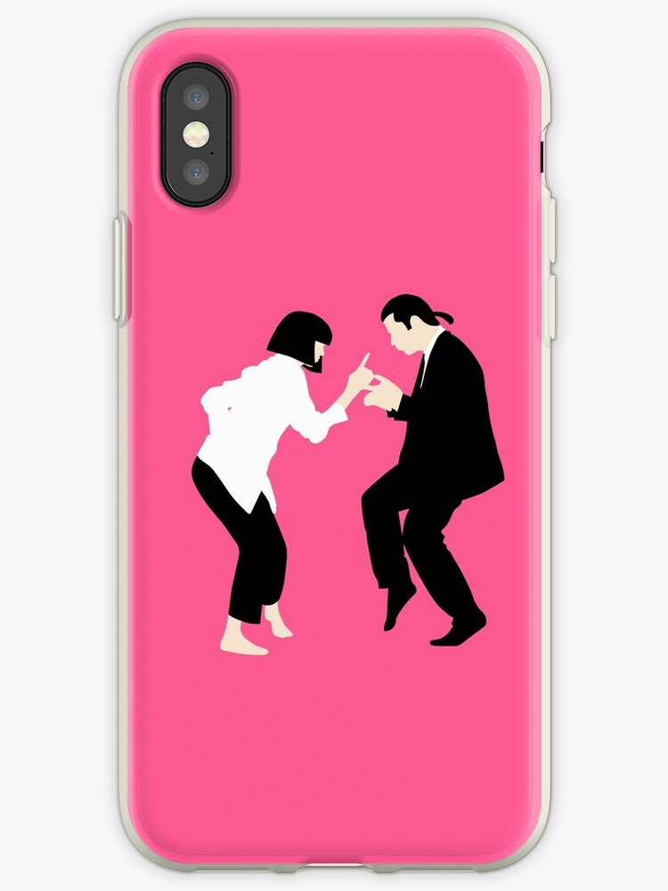coque iphone xr pulp fiction