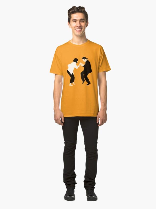 Alternative Ansicht von Pulp Fiction // Jack Rabbit Slim Restaurant Tanz Szene // einzigartige minimalistische Design Classic T-Shirt