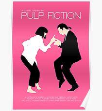Pulp Fiction // Jack Rabbit Slim's Restaurant Dance Scene // Unique Minimalist Design Poster