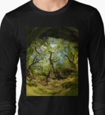 Ness Glen, Mystical Irish Wood Long Sleeve T-Shirt