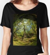 Ness Glen, Mystical Irish Wood Women's Relaxed Fit T-Shirt