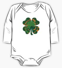 Cool Lucky clover and Ink Nr. 03 One Piece - Long Sleeve