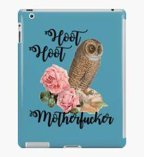 Hoot Hoot Motherfucker iPad Case/Skin