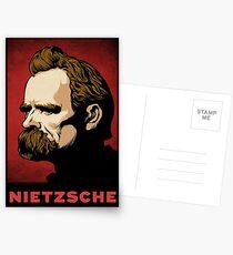 Nietzsche Print Postcards