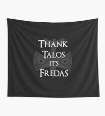 Danke Talos, es ist Fredas Wandbehang