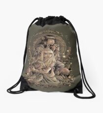 The Great Conjunction Drawstring Bag
