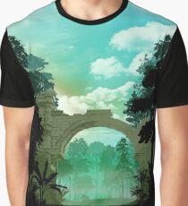 Fantasy Landscapes -Temple Graphic T-Shirt