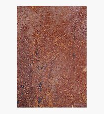 Grungy rusty background Photographic Print