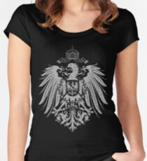 Eagle of German Empire Women's Fitted Scoop T-Shirt