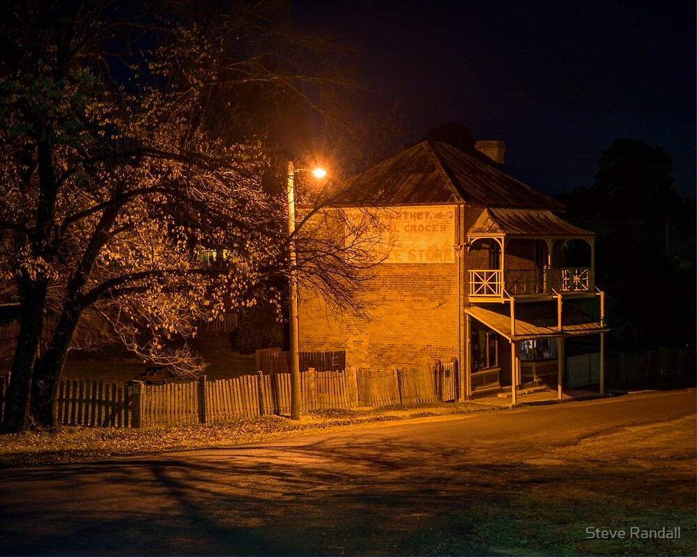 Hill End General Store by Steve Randall