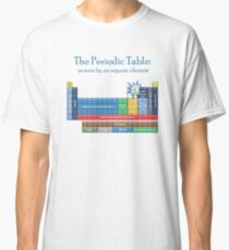 The periodic table-- as seen by an organic chemist Classic T-Shirt