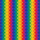 Rainbow Argyle by Lisann