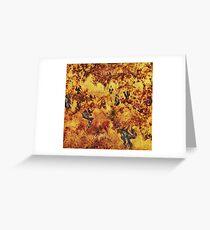 Abondoned vineyard Greeting Card