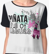 Piñata Full of Issues Chiffon Top