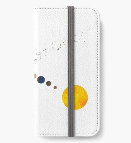 Solar System iPhone Wallet/Case/Skin