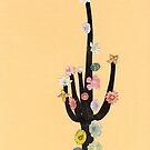 Flowering Cactus by Cassia Beck