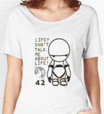 Marvin - The Hitchhiker's Guide to the Galaxy Women's Relaxed Fit T-Shirt
