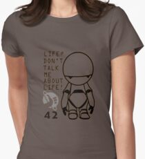 Marvin - The Hitchhiker's Guide to the Galaxy Womens Fitted T-Shirt