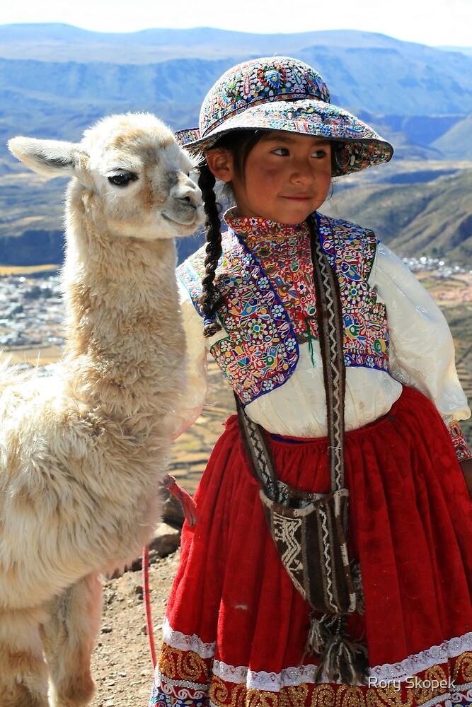 Peruvian Girl by Rory Skopek