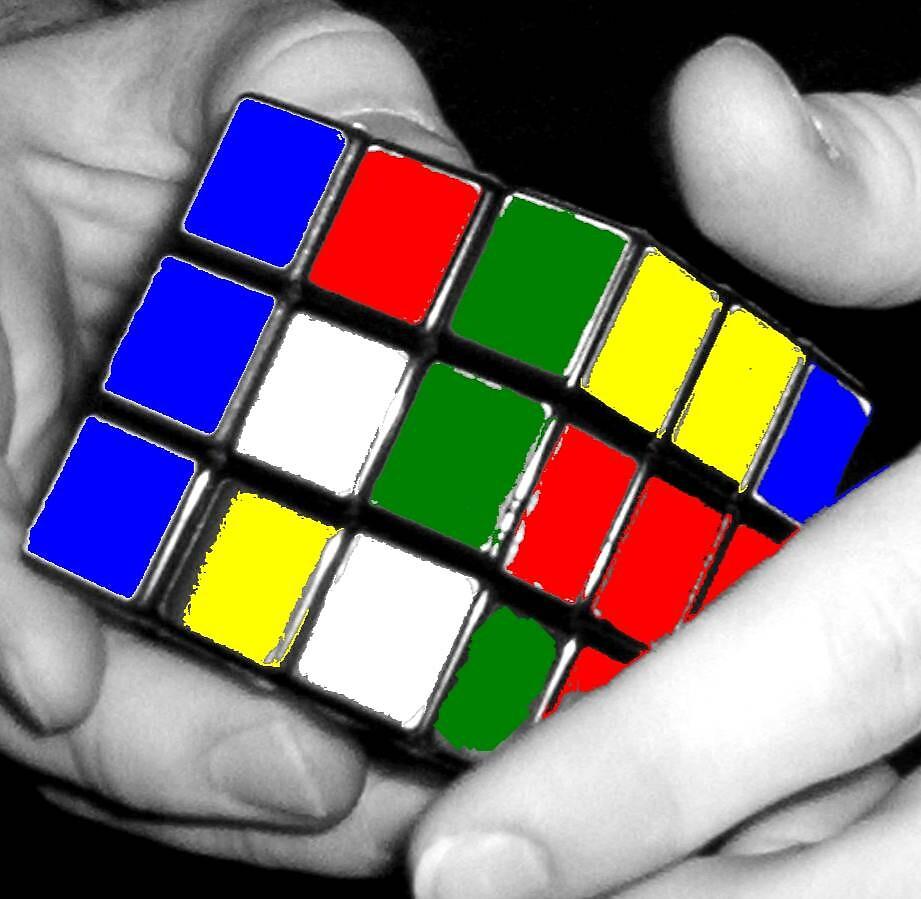 Rubix Colored by darkroomdiva
