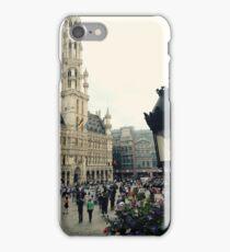 Grande plaza Brussels  iPhone Case/Skin