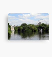 St. James Park Canvas Print
