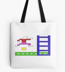 Jumpman: The Commodore 64 game from the 80s Tote Bag