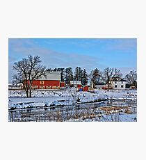 Chickasaw Winter Photographic Print