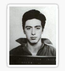 Al Pacino Mugshot Sticker
