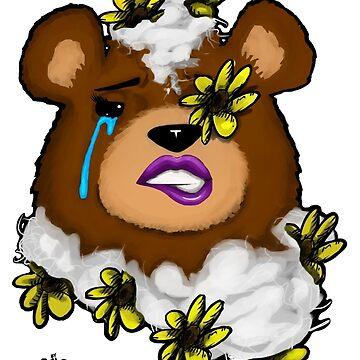 Flowered Teddy (female) by ARTbySTRW