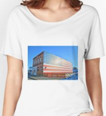 Patriotic Bar Women's Relaxed Fit T-Shirt