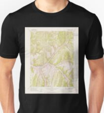 USGS TOPO Map Colorado CO No Name Ridge 401508 1952 24000 Unisex T-Shirt