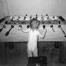 Playing foseball... by Desiree King