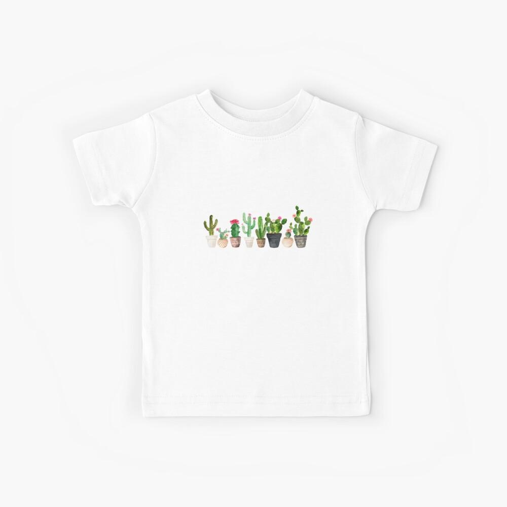 Cactus Camiseta para niños