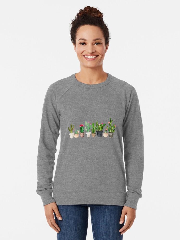 Alternate view of Cactus Lightweight Sweatshirt