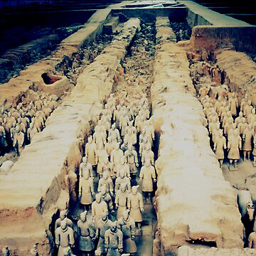Terracotta Warriors by betelnut