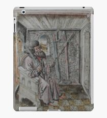 Portrait of Johannes Liechtenauer iPad Case/Skin