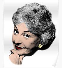 Bea Arthur - Pop Art Design Poster