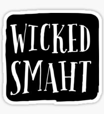 SMART WICKED SMAHT stickers Sticker