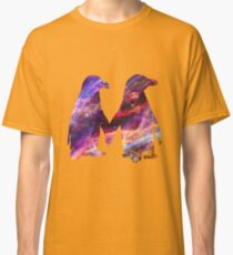 Space - Penguin Couple Classic T-Shirt